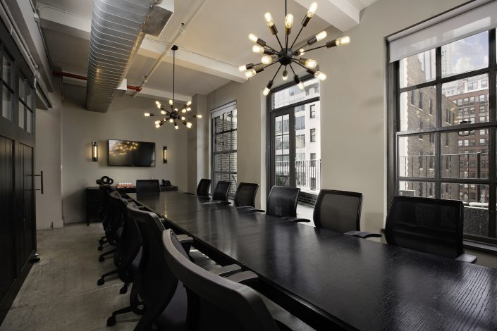 Highest ratio of conference rooms to members in the industry
